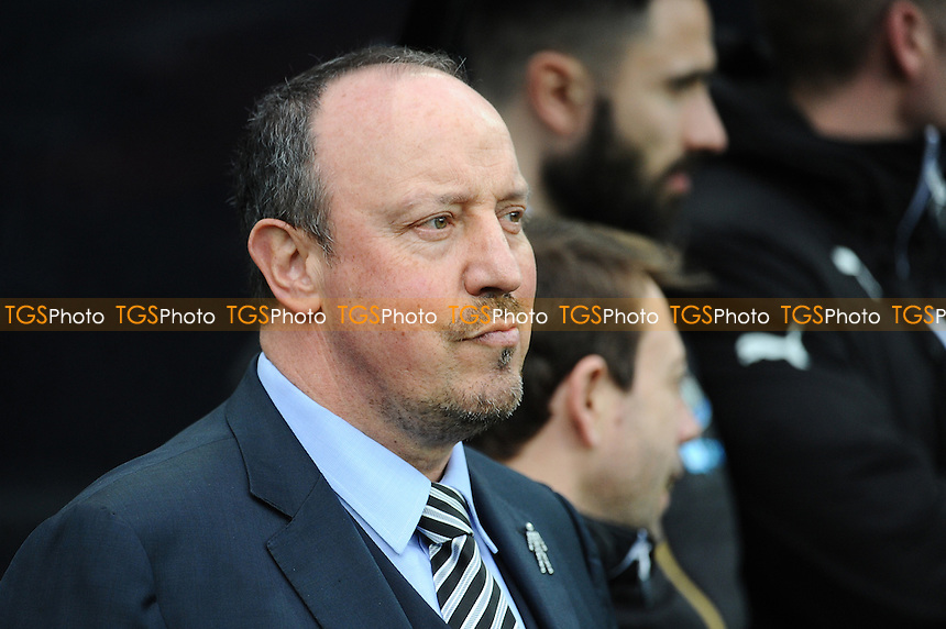 Newcastle United manager Rafa Benítez during Newcastle United vs Bristol City, Sky Bet EFL Championship Football at St. James' Park on 25th February 2017