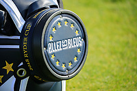 Europe team bag during the Saturday Fourballs at the Ryder Cup, Le Golf National, Paris, France. 29/09/2018.<br /> Picture Phil Inglis / Golffile.ie<br /> <br /> All photo usage must carry mandatory copyright credit (© Golffile | Phil Inglis)