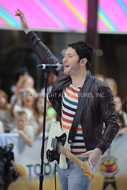 WWW.ACEPIXS.COM . . . . . .August 23, 2012...New York City...Owl City performs on NBC's 'Today' at Rockefeller Center on August 23, 2012 in New York City.....Please byline: KRISTIN CALLAHAN - ACEPIXS.COM.. . . . . . ..Ace Pictures, Inc: ..tel: (212) 243 8787 or (646) 769 0430..e-mail: info@acepixs.com..web: http://www.acepixs.com .