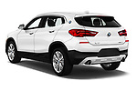 Car pictures of rear three quarter view of a 2018 BMW X2 Standard 5 Door SUV angular rear