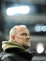 FUSSBALL   1. BUNDESLIGA  SAISON 2011/2012   18. Spieltag 1. FC Kaiserslautern - SV Werder Bremen        21.01.2012 Trainer Thomas Schaaf (SV Werder Bremen)