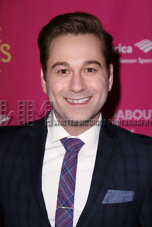 Michael Fatica attends the Broadway Opening Night Performance press reception for 'She Loves Me' at Studio 54 on March 17, 2016 in New York City.