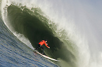 Tyler Smith. Mavericks Surf Contest in Half Moon Bay, California on February 13th, 2010.