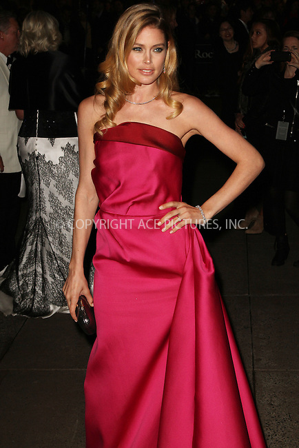 WWW.ACEPIXS.COM....April 18 2013, New York City....Doutzen Kroes arriving at the Tiffany & Co. Blue Book Ball at Rockefeller Center on April 18, 2013 in New York City. ....By Line: Zelig Shaul/ACE Pictures......ACE Pictures, Inc...tel: 646 769 0430..Email: info@acepixs.com..www.acepixs.com