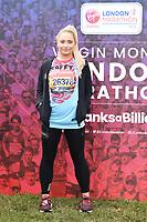 Saffy Barker<br /> at the start of the London Marathon 2019, Greenwich, London<br /> <br /> ©Ash Knotek  D3496  28/04/2019
