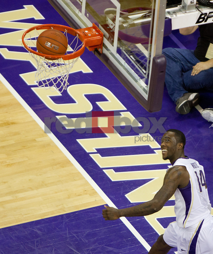 Tony Wroten. UW Mens basketball vs. Oregon State.  Photo by Rob Sumner / Red Box Pictures.