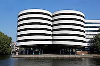 Parkeertoren aan de Marnixstraat in Amsterdam