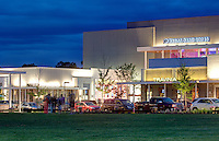 The Regal Stadium 14 movie theater with Imax located in the Shops at Stonefield in Charlottesville, VA. Photo/Andrew Shurtleff