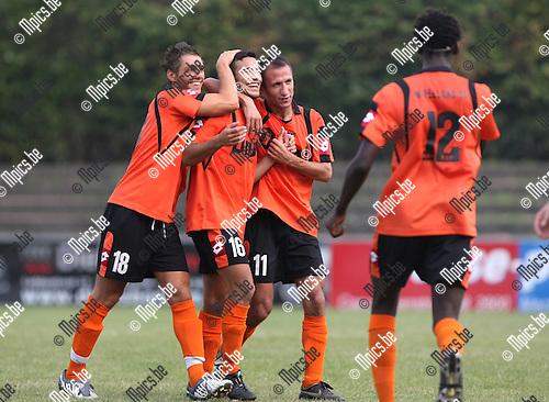2009-09-20 / Voetbal / seizoen 2009-2010 / Willebroek-Meerhof - SV Sottegem / Amin Kabir (16) na de 1-0..Foto: Maarten Straetemans (SMB)