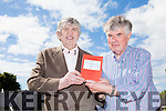 "Tom Buckley from Tarbert launched his book ""Of Tarbert"" on Friday. Tom is pictured here with close friend Kevin Hurley who helped him to produce the book."