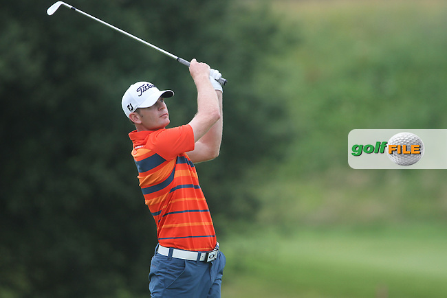 Brendan Steele (USA) on the 18th on Day 3 of the Alstom Open de France at Golf National,  Saint-Quentin-En-Yvelines, Paris, France, 7/7/12...(Photo Jenny Matthews/www.golffile.ie)