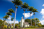 Maui, Hawaii. The historic churches in Hana, Maui