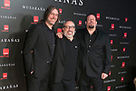 "Alex de la Iglesia Juanfer Andrés and Esteban Roel attend the Premiere of the movie ""Musaranas"" in Madrid, Spain. December 17, 2014. (ALTERPHOTOS/Carlos Dafonte)"