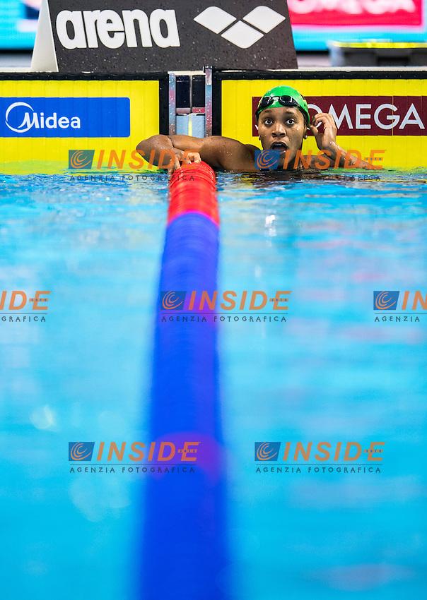 ATKINSON Alia JAM Bronze Medal<br /> Women's 100m Breaststroke<br /> 13th Fina World Swimming Championships 25m <br /> Windsor  Dec. 10th, 2016 - Day05 Final<br /> WFCU Centre - Windsor Ontario Canada CAN <br /> 20161210 WFCU Centre - Windsor Ontario Canada CAN <br /> Photo &copy; Giorgio Scala/Deepbluemedia/Insidefoto