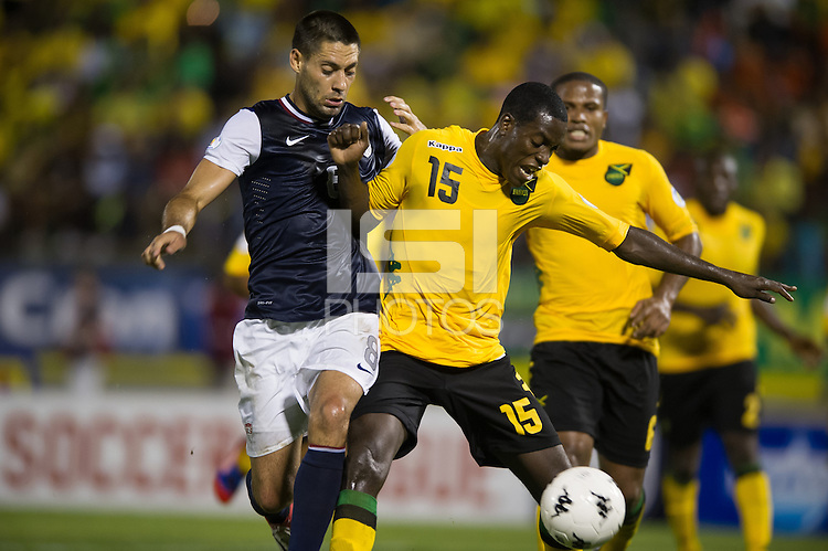 Kingston, Jamaica - Friday, September 7, 2012: The USMNT lost to Jamaica 2-1 during World Cup Qualifying at National Stadium.