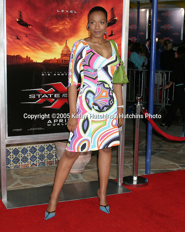 ".Premiere of ""XXX:  State of the Union"".Westwood, CA.April 25, 2005.@2005 Kathy Hutchins / Hutchins Photo.Nona Gaye.Premiere of ""XXX:  State of the Union"".Westwood, CA.April 25, 2005.@2005 Kathy Hutchins / Hutchins Photo."