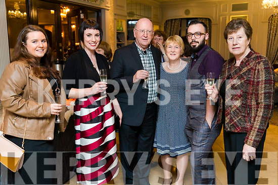 Megan Daly, Janet O'Sullivan Harkin, Denis O'Sullivan, Breda Byrne, Eoin Reen and Breda O'Sullivan at the 'Rose Rocks For Sudan' Charity Dinner in Aid of Sudan at the Rose Hotel on Sunday night.