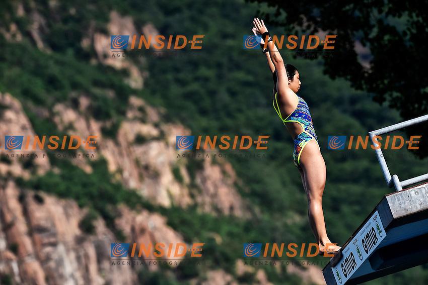 TATSUMI Fuka JPN <br /> Platform Women Final - Piattaforma Donne Finale <br /> Bolzano 02-08-2014 <br /> 20 Fina Diving Grand Prix <br /> Photo Andrea Staccioli/Insidefoto