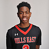 Savion Lewis of Half Hollow Hills East poses for a portrait during Newsday's All-Long Island boys basketball photo shoot at company headquarters in Melville on Monday, March 26, 2018.