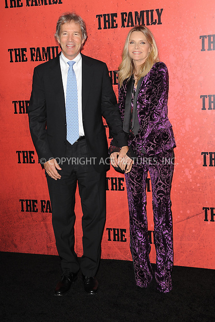 WWW.ACEPIXS.COM<br /> September 10, 2013 New York City<br /> <br /> David E. Kelley and Michelle Pfeiffer attending the World Premiere of &quot;The Family&quot; in New York City on September 10, 2013. <br /> By Line: Kristin Callahan/ACE Pictures<br /> <br /> ACE Pictures, Inc.<br /> tel: 646 769 0430<br /> Email: info@acepixs.com<br /> www.acepixs.com<br /> Copyright:<br /> Kristin Callahan/ACE Pictures