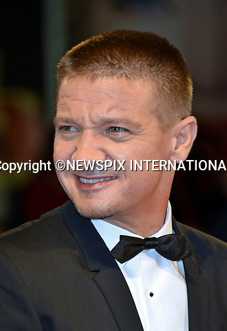 01.08.2016; Venice, Italy: JEREMY RENNER<br /> atttends &ldquo;The Light Between Oceans&rdquo; screening at the 73rd Venice Film Festival.<br /> Mandatory Credit Photo: &copy;NEWSPIX INTERNATIONAL<br /> <br /> PHOTO CREDIT MANDATORY!!: NEWSPIX INTERNATIONAL(Failure to credit will incur a surcharge of 100% of reproduction fees)<br /> <br /> IMMEDIATE CONFIRMATION OF USAGE REQUIRED:<br /> Newspix International, 31 Chinnery Hill, Bishop's Stortford, ENGLAND CM23 3PS<br /> Tel:+441279 324672  ; Fax: +441279656877<br /> Mobile:  0777568 1153<br /> e-mail: info@newspixinternational.co.uk<br /> Please refer to usage terms. All Fees Payable To Newspix International