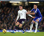 Chelsea's John Terry tussles with Everton's Ross Barkley<br /> <br /> Barclays Premier League- Chelsea vs Everton  - Stamford Bridge - England - 11th February 2015 - Picture David Klein/Sportimage