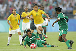 2008.08.12 Olympics: Nigeria vs Brazil