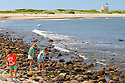 BLOCK ISLAND, RI - Sept. 3, 2009--The stony beach leading to North Light. CREDIT: JODI HILTON FOR THE NEW YORK TIMES