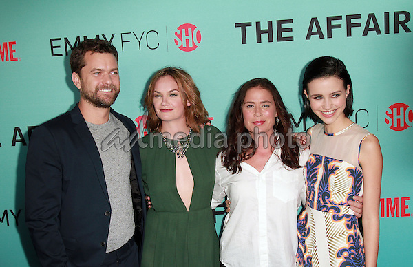 """06 May 2015 - Beverly Hills, California -  Joshua Jackson, Ruth Wilson, Maura Tierney, Julia Golden Telles. Showtime Presents  An Exclusive Screening & Panel Discussion with Breakout Hit """"The Affair"""" held at Samuel Goldwyn Theater. Photo Credit: Theresa Bouche/AdMedia"""