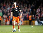 Chris Basham of Sheffield Utd during the English League One match at Vale Park Stadium, Port Vale. Picture date: April 14th 2017. Pic credit should read: Simon Bellis/Sportimage