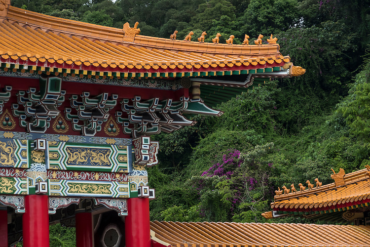 The bulky complex, built in 1969, is typical of the northern 'palace style' architecture popularised during Chiang Kai-shek's reign.