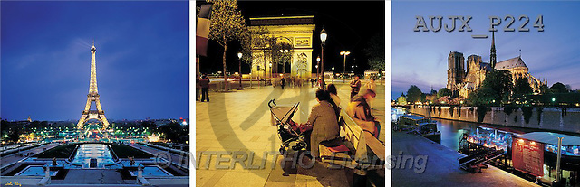 Dr. Xiong, LANDSCAPES, panoramic, photos, Paris, France(AUJXP224,#L#)