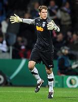 Fussball DFB Pokal:  Saison   2011/2012  Achtelfinale  20.12.2011 VfL Bochum - FC Bayern Muenchen  Andreas Luthe (VfL Bochum)