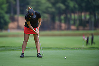 Ceilia Barquin Arozamena (a)(ESP) watches her putt on 17 during round 1 of the U.S. Women's Open Championship, Shoal Creek Country Club, at Birmingham, Alabama, USA. 5/31/2018.<br /> Picture: Golffile | Ken Murray<br /> <br /> All photo usage must carry mandatory copyright credit (&copy; Golffile | Ken Murray)