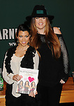 Kourtney & Khloe Kardashian Sign Book Kardashian Konfidential 12-12-11