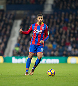 2nd December 2017, The Hawthorns, West Bromwich, England; EPL Premier League football, West Bromwich Albion versus Crystal Palace; Ruben Loftus Cheek of Crystal Palace on the ball