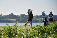 Laura Davies (ENG) watches her tee shot on 6 during round 1 of  the Volunteers of America LPGA Texas Classic, at the Old American Golf Club in The Colony, Texas, USA. 5/5/2018.<br /> Picture: Golffile | Ken Murray<br /> <br /> <br /> All photo usage must carry mandatory copyright credit (&copy; Golffile | Ken Murray)