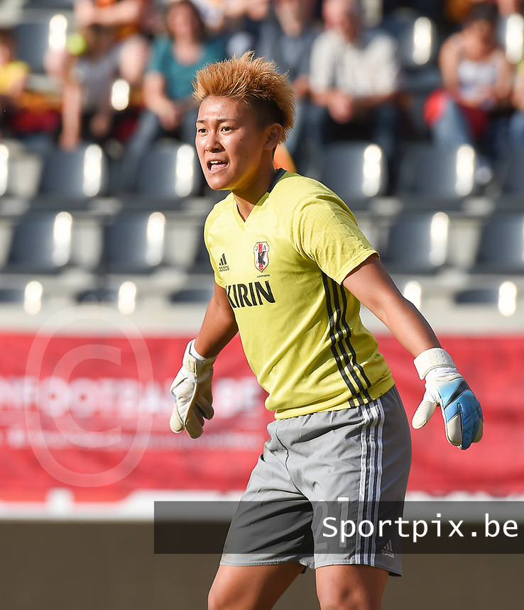 20170613 - LEUVEN ,  BELGIUM : Japanese Ayaka Yamashita  pictured during the female soccer game between the Belgian Red Flames and Japan , a friendly game before the European Championship in The Netherlands 2017  , Tuesday 13 th Juin 2017 at Stadion Den Dreef  in Leuven , Belgium. PHOTO SPORTPIX.BE | DIRK VUYLSTEKE