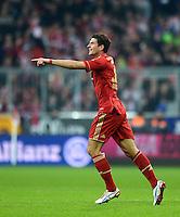 FUSSBALL   1. BUNDESLIGA  SAISON 2012/2013   13. Spieltag FC Bayern Muenchen - Hannover 96     24.11.2012 JUBEL nach dem TOR zum 5:0 durch Mario Gomez (FC Bayern Muenchen)