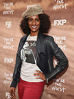 "LOS ANGELES, CA - APRIL 3: Jonell Kennedy attends the FYC Red Carpet event for the series finale of FX's ""You're the Worst"" at Regal Cinemas L.A. Live on April 3, 2019 in Los Angeles, California. (Photo by Frank Micelotta/FX/PictureGroup)"