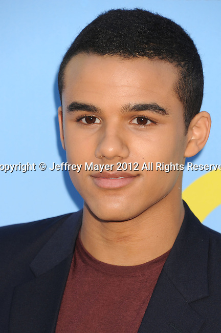 HOLLYWOOD, CA - SEPTEMBER 12: Jacob Artist arrives at the 'GLEE' Premiere Screening And Reception at Paramount Studios on September 12, 2012 in Hollywood, California.