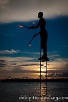 Juggler at Mallory Square, Key West, Florida, USA. Photo by Debi Pittman Wilkey