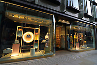 Luxury Fashion and Jewellery stores in London's New Bond Street, September 26th 2019<br /> <br /> Photo by Keith Mayhew