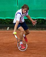 August 6, 2014, Netherlands, Rotterdam, TV Victoria, Tennis, National Junior Championships, NJK,  Joris Bodin (NED)<br /> Photo: Tennisimages/Henk Koster