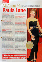 My Weekly Magazine<br /> Paula Lane<br /> 41260<br /> tearsheet