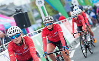 Picture by Allan McKenzie/SWpix.com - 15/05/2018 - Cycling - OVO Energy Tour Series Womens Race - Round 2:Motherwell - Team Breeze's Jess Roberts