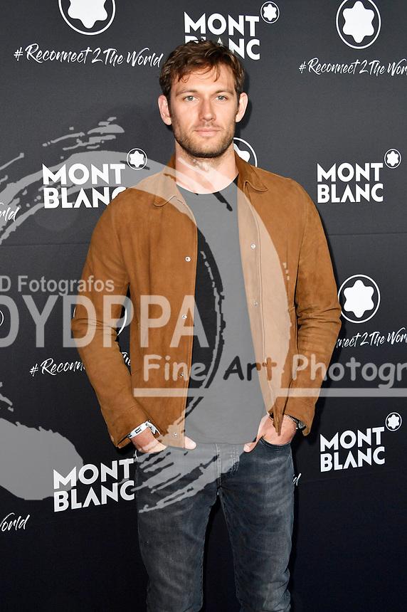Alex Pettyfer beim Montblanc Travel & the Arts Events vor dem Gallery Weekend im Metropoltheater. Berlin, 24.04.2019