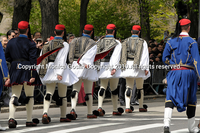 Greek Parade in New York City.