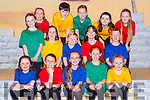 Some of the Children from the cast at the Joseph and his Amazing Technicolor Dreamcoat in the INEC on Thursday night