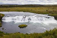 Faxi-Wasserfall, Vatnsleysufoss, Faxafoss, Fluß Tungufljót